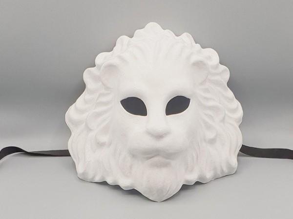 Máscara blanca de León