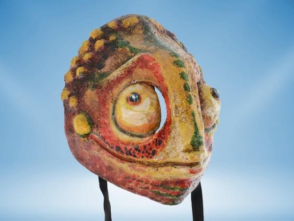 Máscara de camaleón