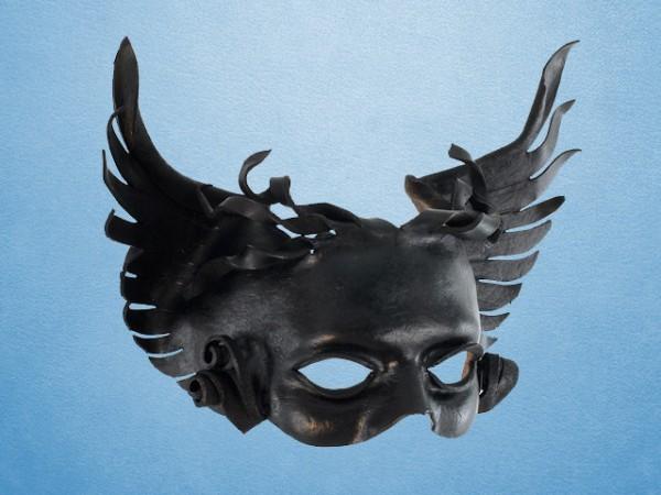 Máscara de cuero de Tánatos