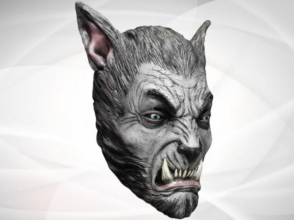 """Máscara de Halloween """"El hombre lobo en luna llena"""""""