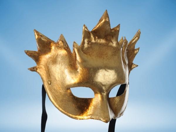 Máscara dorada de Baco