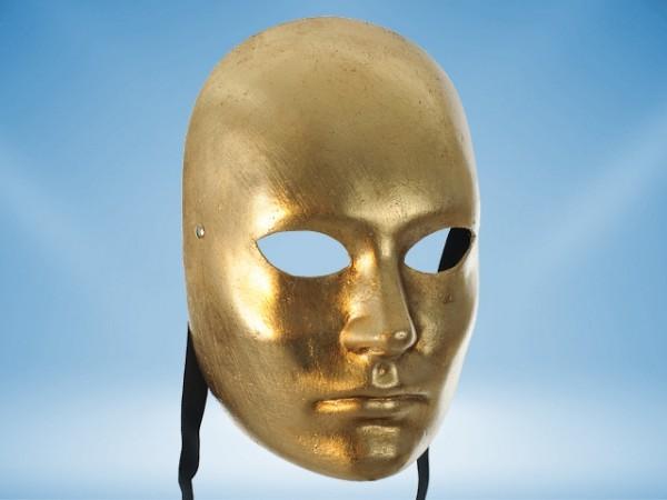 Máscara Dorada de rostro completo