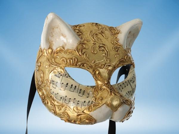 Máscara Gato Veneciano