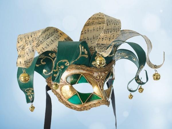 Máscara Jolly en verde