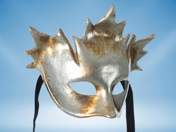 Máscara plateada de Baco