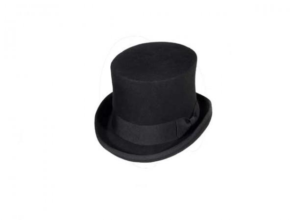 Sombrero de Copa Steampunk negro, medium - 58 cm