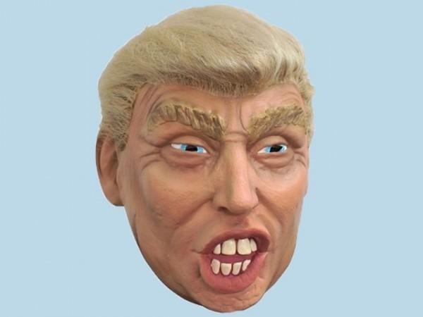 Máscara de Trump con pelo